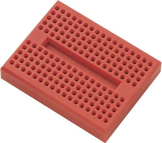 Breadboard Rood Totaal aantal polen 170 (l x b x h) 45.72 x 35.56 x 9.40 mm 1 stuks