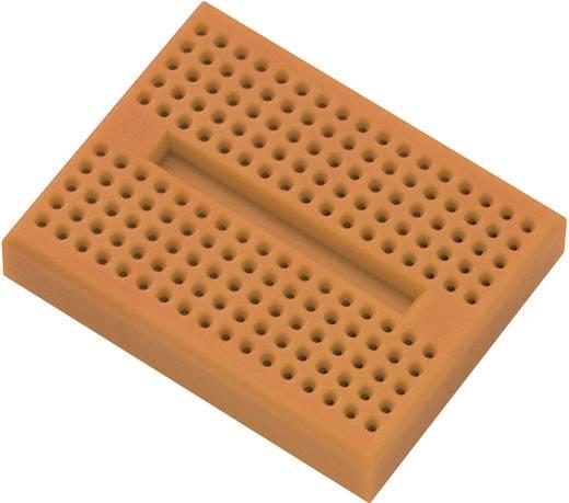 Breadboard Oranje Totaal aantal polen 170 (l x b x h) 45.72 x 35.56 x 9.40 mm 1 stuks
