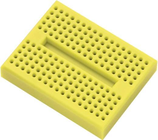 Breadboard Geel Totaal aantal polen 170 (l x b x h) 45.72 x 35.56 x 9.40 mm 1 stuks