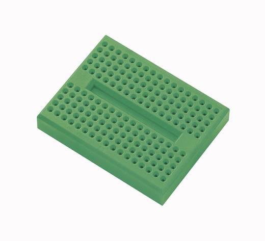 Breadboard Groen Totaal aantal polen 170 (l x b x h) 45.72 x 35.56 x 9.40 mm 1 stuks