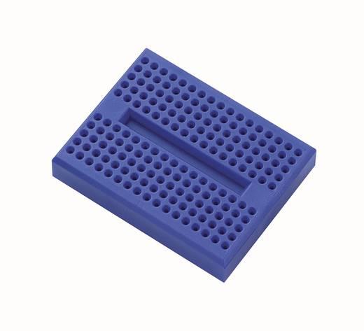 Breadboard Blauw Totaal aantal polen 170 (l x b x h) 45.72 x 35.56 x 9.40 mm 1 stuks