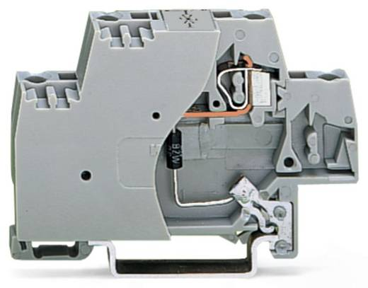 Aderklem 10 mm Veerklem Toewijzing: L Grijs WAGO 280-502/281-590 50 stuks