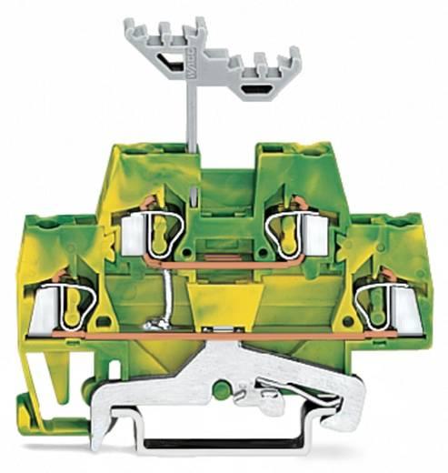 Aardklem 2-etages 5 mm Veerklem Toewijzing: Terre Groen-geel WAGO 280-517 50 stuks
