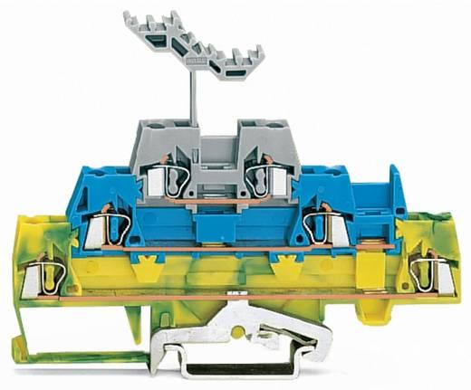 Doorgangsklem 3-etages 5 mm Veerklem Groen-geel, Blauw, Grijs WAGO 280-547 40 stuks