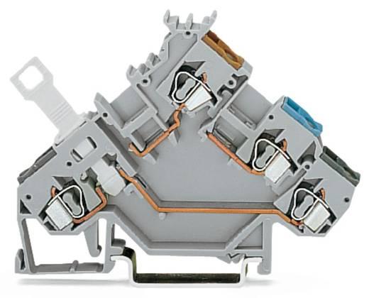 Scheidingsklem 5 mm Veerklem Toewijzing: L Grijs WAGO 280-563 50 stuks