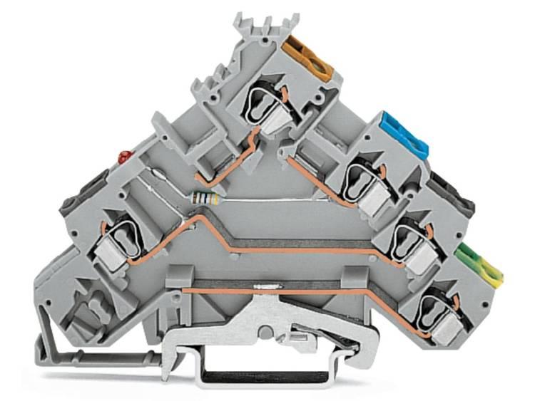 WAGO 280-570/281-434 Initiatorklem 5 mm Veerklem Toewijzing: L Grijs 50 stuks