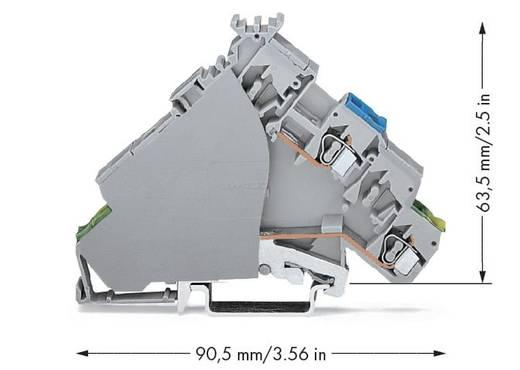 Actorklem 6 mm Veerklem Toewijzing: L Grijs WAGO 280-578 20 stuks