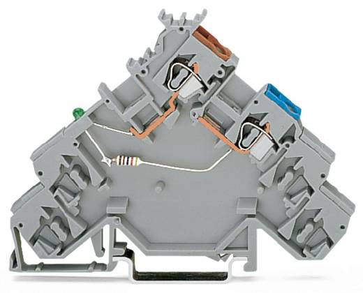 Initiatorklemmen 5 mm Veerklem Toewijzing: L Grijs WAGO 280-584/281-483 10 stuks