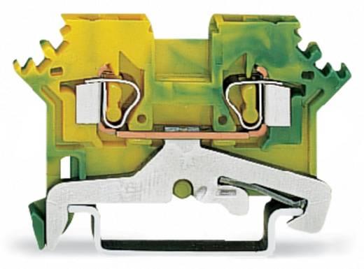 Aardingsklem 5 mm Veerklem Toewijzing: Terre Groen-geel WAGO 280-607 100 stuks