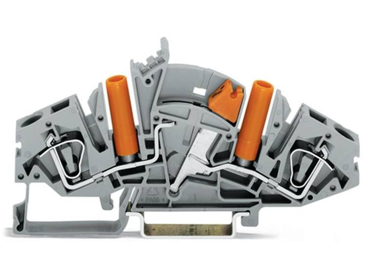 WAGO 282-821 Scheidingsklem 8 mm Veerklem Toewijzing: L Grijs 20 stuks