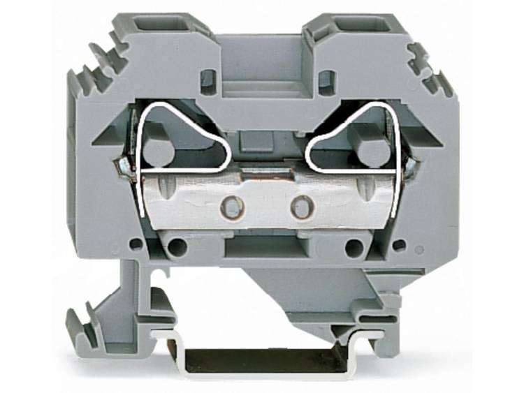 WAGO 283-101 Doorgangsklem 12 mm Veerklem Toewijzing: L Grijs 50 stuks
