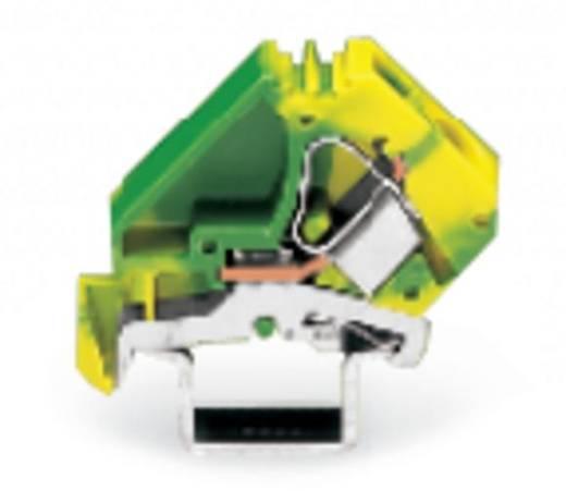 Vervangings vermogensklem 12 mm Veerklem Toewijzing: Terre Groen-geel WAGO 283-609 25 stuks
