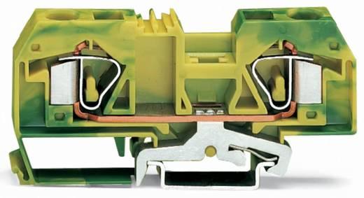 Aardingsklem 12 mm Veerklem Toewijzing: Terre Groen-geel WAGO 283-907 20 stuks