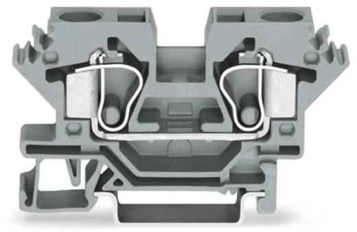 Doorgangsklem 10 mm Veerklem Toewijzing: L Grijs WAGO 284-691 25 stuks