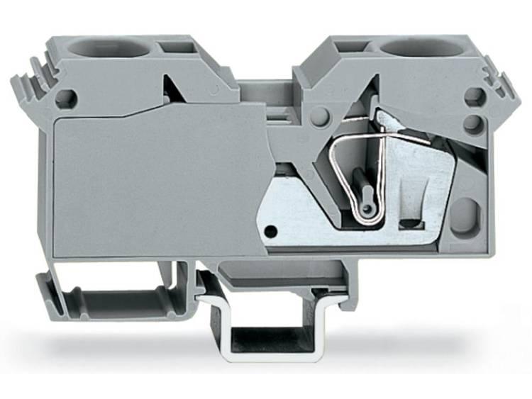WAGO 285-601 Doorgangsklem 16 mm Veerklem Toewijzing: L Grijs 15 stuks
