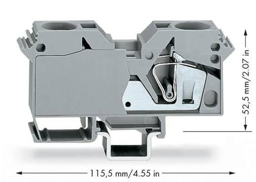 Doorgangsklem 16 mm Veerklem Toewijzing: L Grijs WAGO 285-601 15 stuks