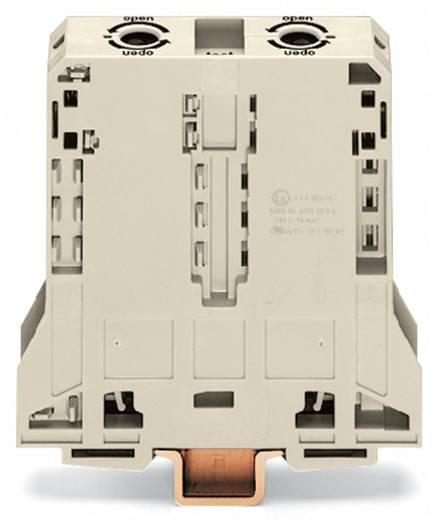 Doorgangsklem 25 mm Veerklem Toewijzing: L Grijs WAGO 285-995 5 stuks
