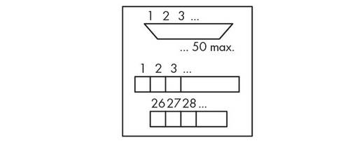 WAGO 289-549 Transfer blok Inhoud: 1 stuks