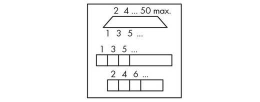 WAGO 289-454 Transfer blok Inhoud: 1 stuks