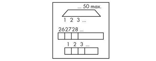 WAGO 289-559 Transfer blok Inhoud: 1 stuks