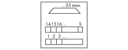 WAGO 289-650 Transfer blok Inhoud: 1 stuks