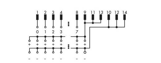 WAGO 289-682 Overdrachtsmodule 8 I / O Inhoud: 1 stuks