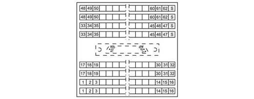WAGO 289-822 Transfer blok Inhoud: 8 stuks