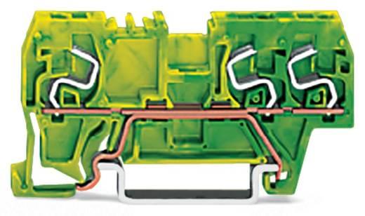 Aardingsklem 5 mm Veerklem Toewijzing: Terre Groen-geel WAGO 290-667 100 stuks