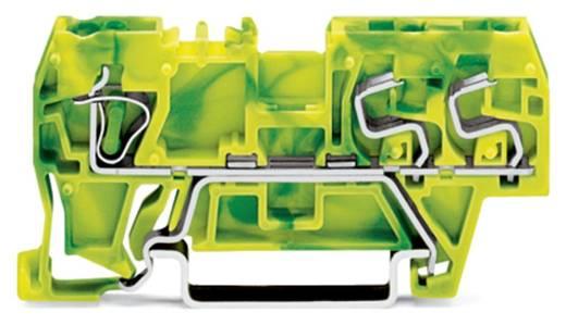 Aardingsklem 5 mm Veerklem Toewijzing: Terre Groen-geel WAGO 290-687 100 stuks
