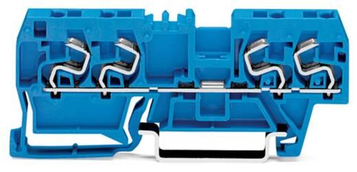 Doorgangsklem 5 mm Veerklem Toewijzing: N Blauw WAGO 290-864 100 stuks
