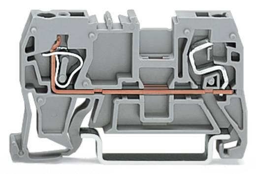 Doorgangsklem 5 mm Veerklem Toewijzing: L Grijs WAGO 290-901 100 stuks