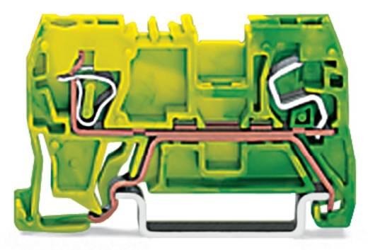 Aardingsklem 5 mm Veerklem Toewijzing: Terre Groen-geel WAGO 290-907 100 stuks