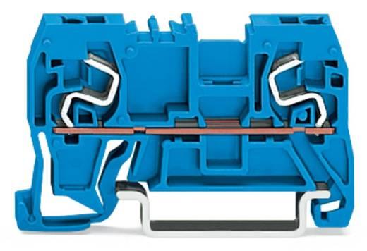 Doorgangsklem 5 mm Veerklem Toewijzing: N Blauw WAGO 290-964 100 stuks