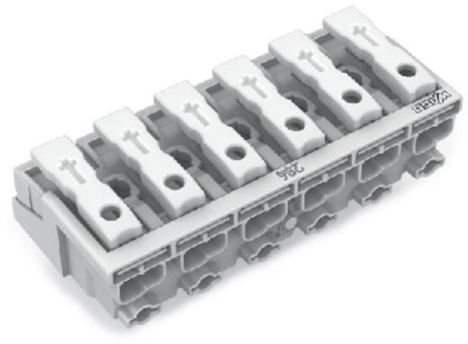 WAGO Netaansluitingsklem Flexibel: - Massief: 0.5-1.5 mm² Aantal polen: 6 250 stuks Wit