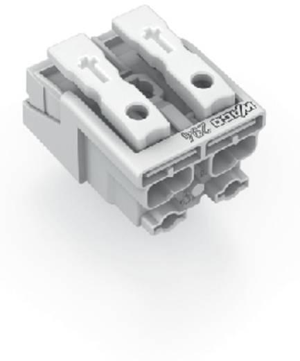 WAGO 294-5002 Netaansluitingsklem Flexibel: - Massief: 0.5-1.5 mm² Aantal polen: 2 1000 stuks Wit