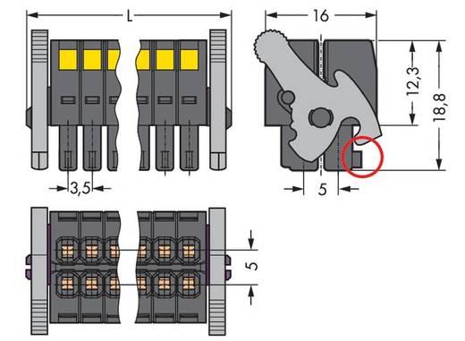 Busbehuizing-kabel Totaal aantal polen 16 WAGO 713-1108/037