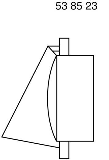 Wallair N34810 Ventilatiekap met terugslagklep Wit