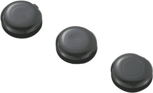 Kabeldoorvoering Gesloten Klem-Ø (max.) 5 mm PVC Zwart KSS GMCQR-0705 1 stuks