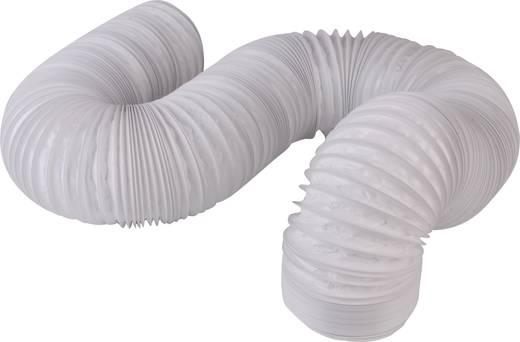 Wallair Flexibele kunststof spiraalslang 102 Wit 10.2 cm 6 m 20200010