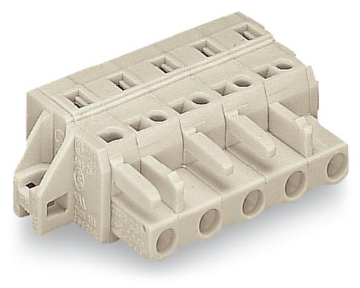 Busbehuizing-kabel 721 Totaal aantal polen 4 WAGO 721-204/031-000 Rastermaat: 7.50 mm 50 stuks