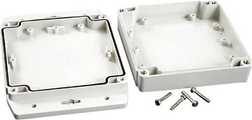 Hammond Electronics 1555N2F17GY Universele behuizing 120 x 120 x 37.2 Polycarbonaat Lichtgrijs 1 stuks