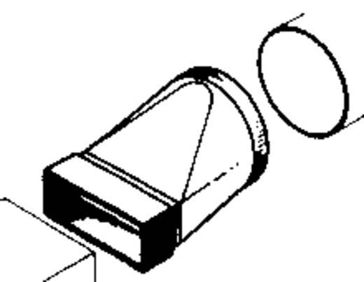 Vlakkanaal ventilatiesysteem 100 Wallair Verloopstuk 110/100 20200115
