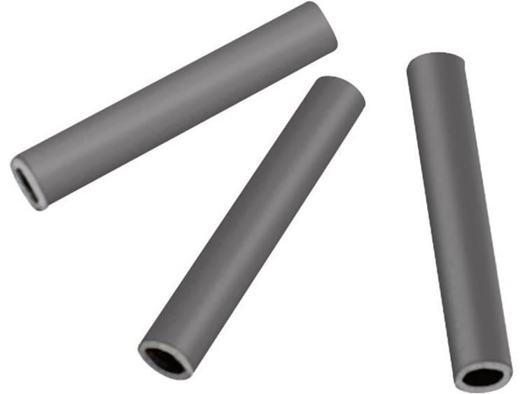 HellermannTyton H50X25BK CR BK 500 Kabeltulle Klem-Ã (max.) 9 mm Chloroprene rubber Zwart 1 stuks
