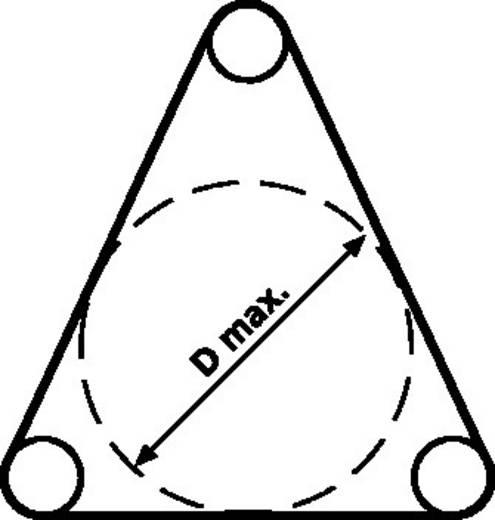Oprektang Metaal HellermannTyton VA-2,5/5 KOMPLETT 1 stuks