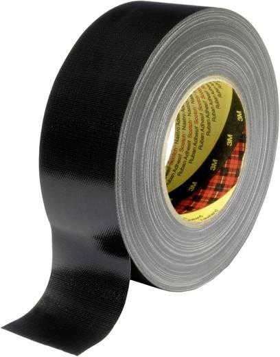 3M 389 Textieltape Zwart (l x b) 50 m x 50 mm Gomharslijm Inhoud: 1 rollen