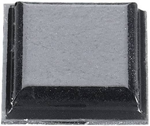3M SJ 5007 Apparaatvoet Zelfklevend, Vierkant Zwart (l x b x h) 10.2 x 10.2 x 2.5 mm 1 stuks