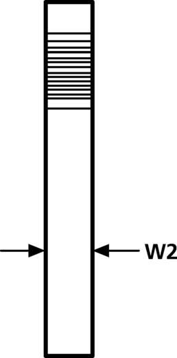 Bevestigingsklem Schroefbaar zelfsluitend, hersluitbaar Naturel HellermannTyton 060-19000022 SNP1(E)-POM-NA-C1 1 stuks