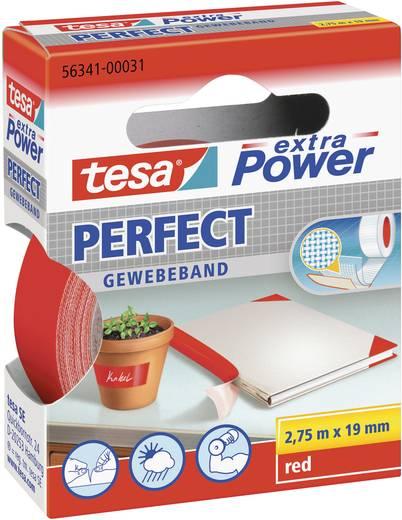 tesa tesa Extra Power Textieltape Rood (l x b) 2.75 m x 19 mm Rubber Inhoud: 1 rollen