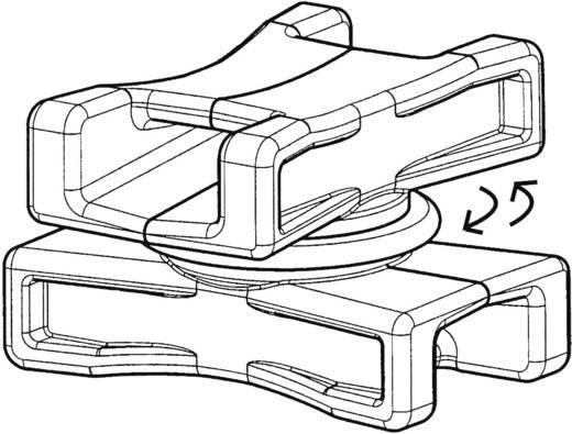 HellermannTyton 151-06502 DSWS5-HS-BK-L1 Bevestigingselement 1 stuks
