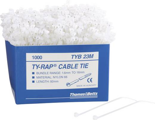 ABB TYB23MX TYB23MX Kabelbinder 92 mm Zwart 1000 stuks